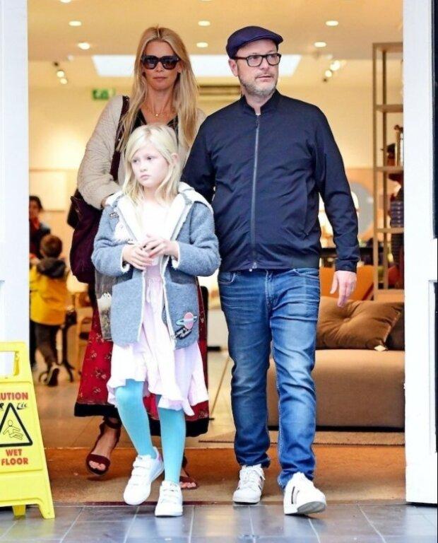 Клаудія Шиффер з чоловіком і донькою, фото з вільних джерел