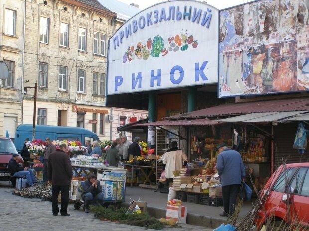 Привокзальный рынок во Львове, фото: Народная правда