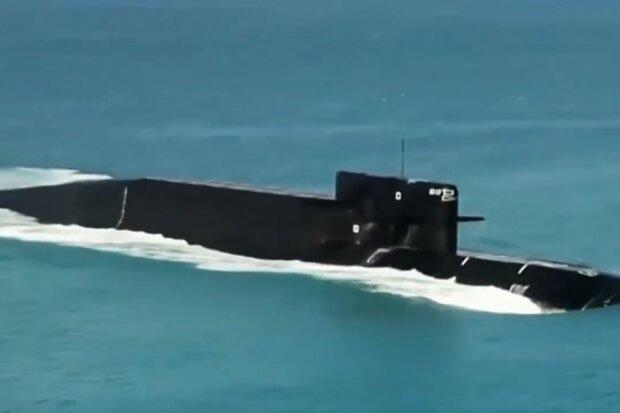 Підводний човен, скріншот відео