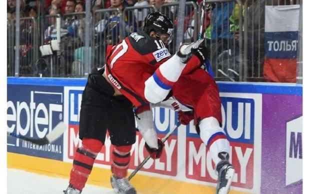 Канада - Росія 4:2 Відео найкращих моментів матчу ЧС-2017 з хокею