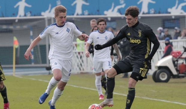 Динамо розгромило Ювентус в Юнацькій Лізі УЄФА