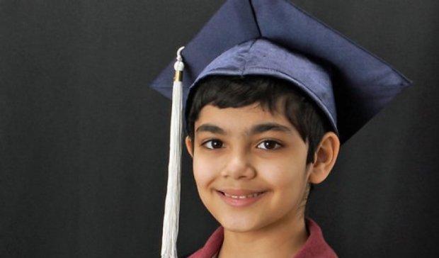 11-летний американский вундеркинд окончил колледж с тремя дипломами