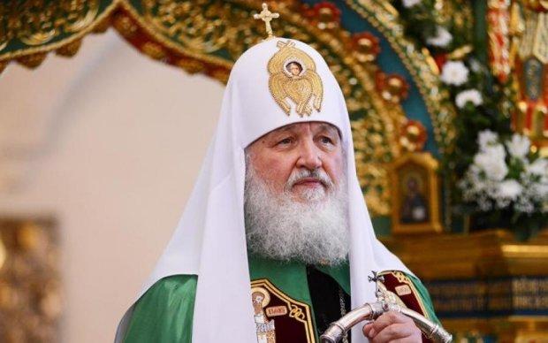 """""""Царя"""" на ікону: у патріарха Кирила знову виділилися"""