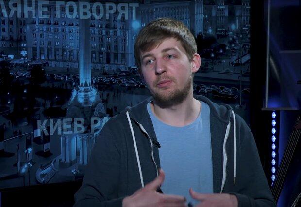 Александр Рак, скриншот видео
