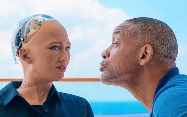 """""""Твоя музика не для мене"""": робот Софія влаштувала Віллу Сміту пекельне побачення"""
