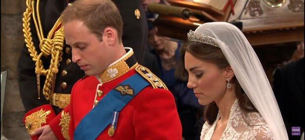 Свадьба принца Уильяма и Кейт Миддлтон, фото: скриншот из видео