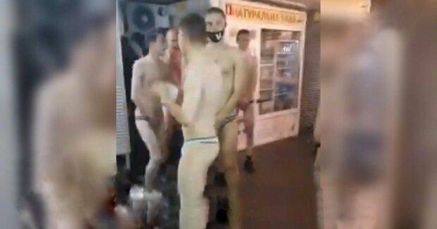 Голий забіг, фото: скріншот з відео
