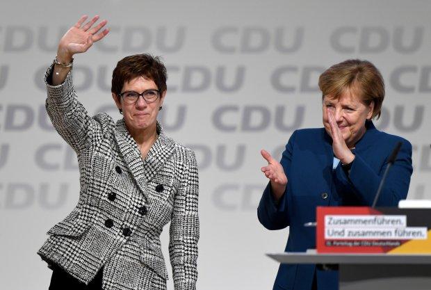Ангела Меркель і Аннегрет Крамп-Карренбауер