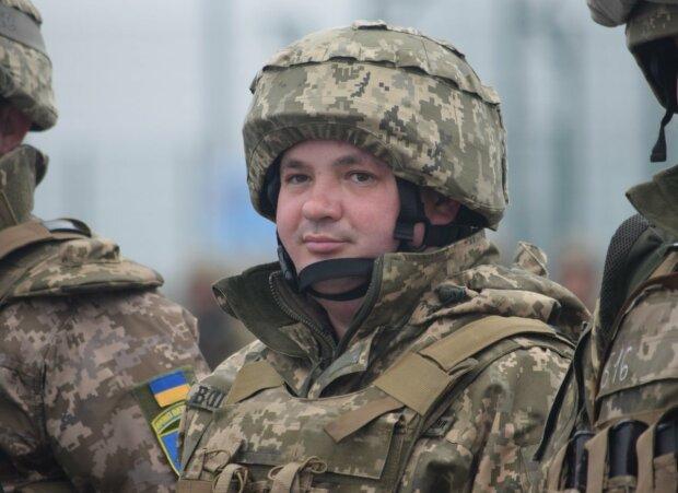 Андрей защищает Украину на востоке, фото с фейсбук