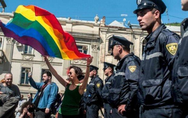 "Церква ""потролила"" грузинську ЛГБТ-спільноту: фото"