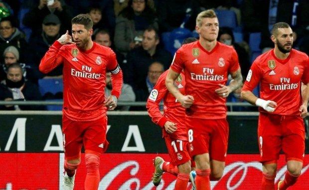 Невероятный Рамос забил 50-й гол головой за Реал: видео