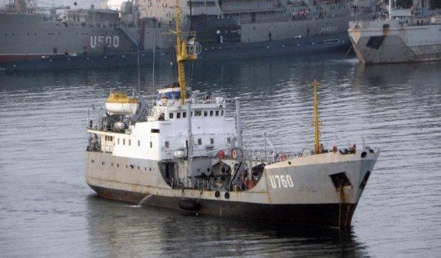 У море вийшов вперше після анексії Криму наш  танкер