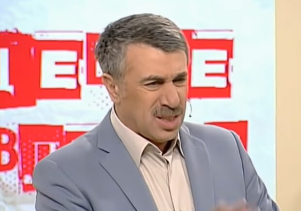 Євген Комаровський, скріншот: YouTube
