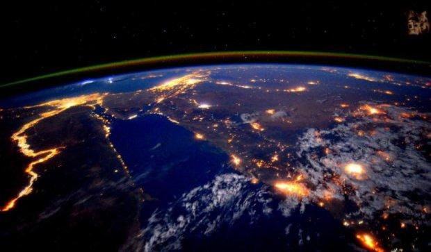 NASA показало нічний Ніл