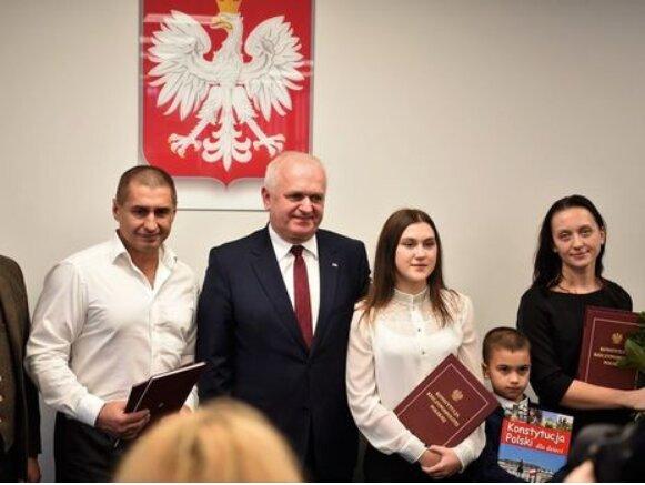 Украинцу подарили гражданство Польши, Gordon