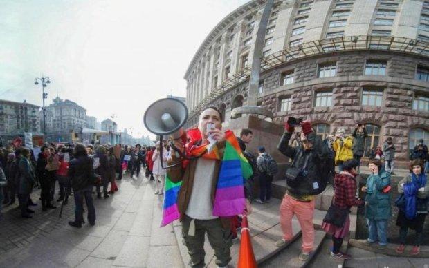 Oh my March: центр Киева парализовали борцы за права