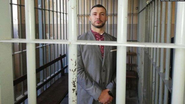 Осужденный на 24 года заключения нацгвардеец Маркив написал письмо Зеленскому