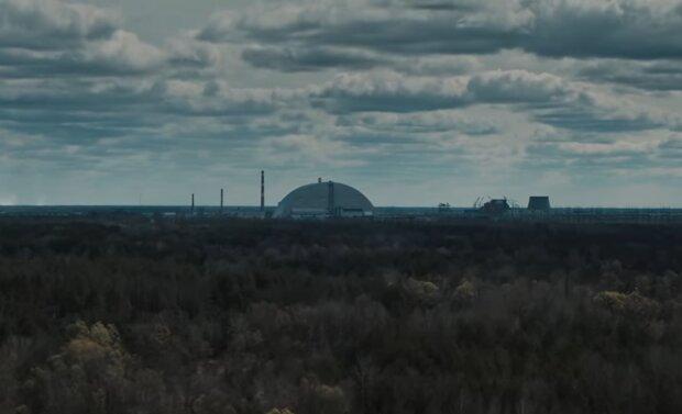 Чорнобиль після пожеж, скріншот: YouTube