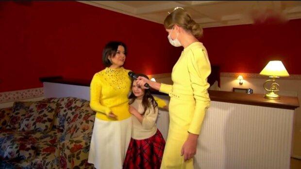 Катя Осадча і Марічка Падалко, фото: скріншот з відео
