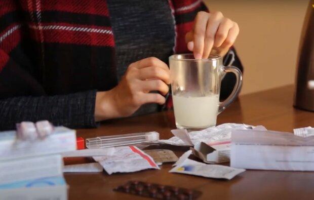 простуда, скриншот из видео