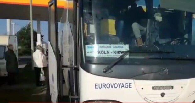 Автобус з Кельна, скріншот
