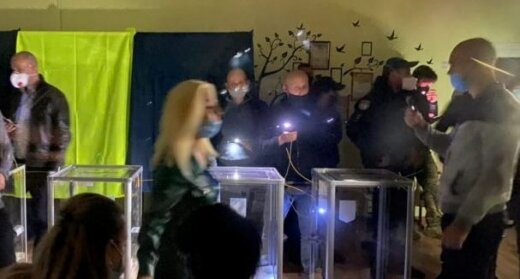 На виборчій дільниці Закарпаття зникло світло, фото zak-kor.net
