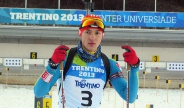 Український біатлоніст Тищенко «погорів» на допінгу