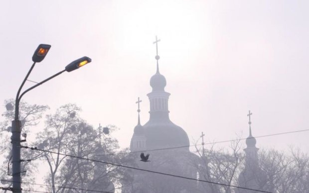 Синоптики попереджають: Київ перетвориться на Сайлент-Хілл