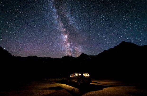 Галактика, фото pxhere