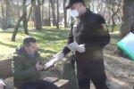 карантинний патруль, скріншот з відео