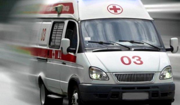 З київської маршрутки випала жінка