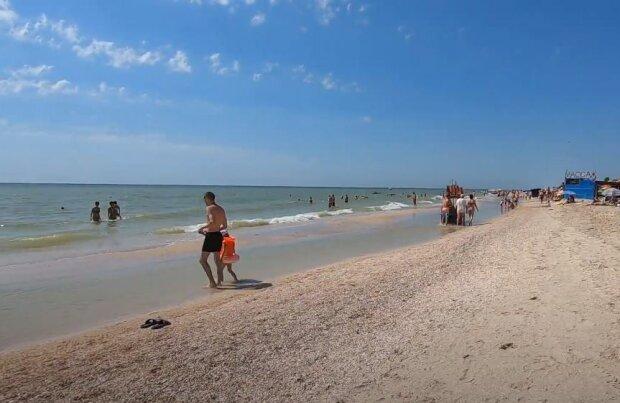 Пляж, скриншот: YouTube