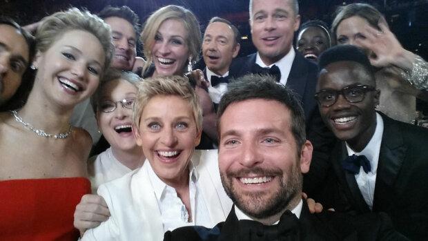 "Селфи с церемонии ""Оскар"", фото: gettyimages"
