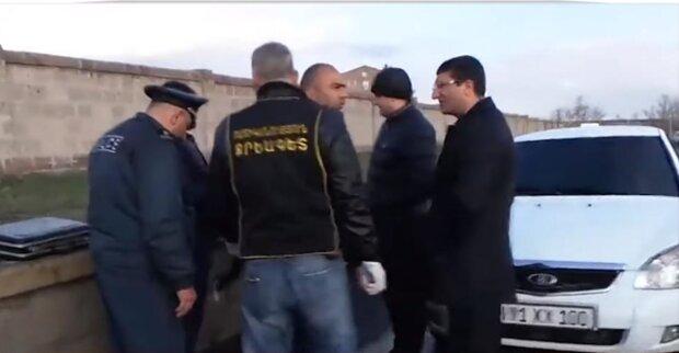 перестрілка в Вірменії, скріншот з відео