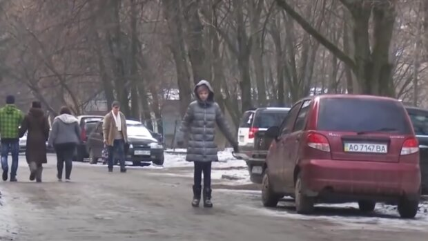 зима, скріншот з відео