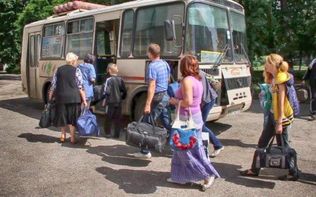 Переселенці подарували Львову частинку Донбасу
