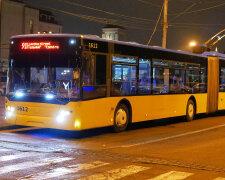 В Киеве на две ночи остановят ночные троллейбусы