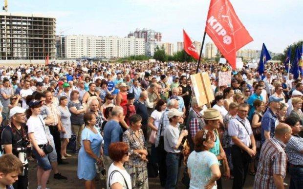 Наконец дошло? Тысячи россиян поднялись против Путина