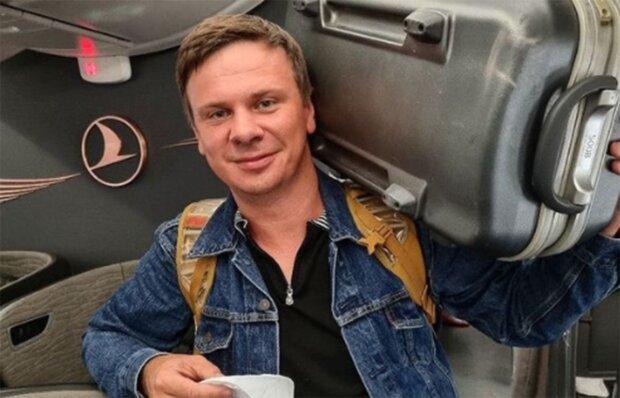 Дмитрий Комаров, фото из instagram