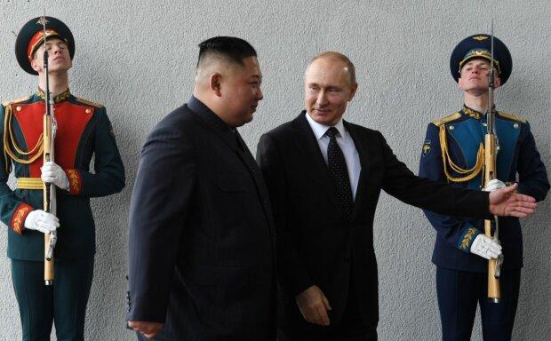 Кім Чен Ин та Володимир Путін