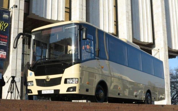 Украинцы создали автобус для Европы