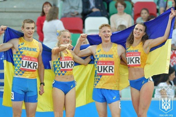 Мы чемпионы: украинская сборная завоевала золото в эстафете на Европейских играх-2019