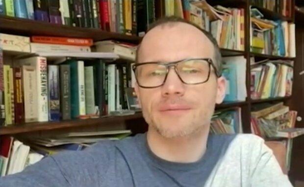 """Денис Малюська, скриншот из видео """"Украина 24"""""""