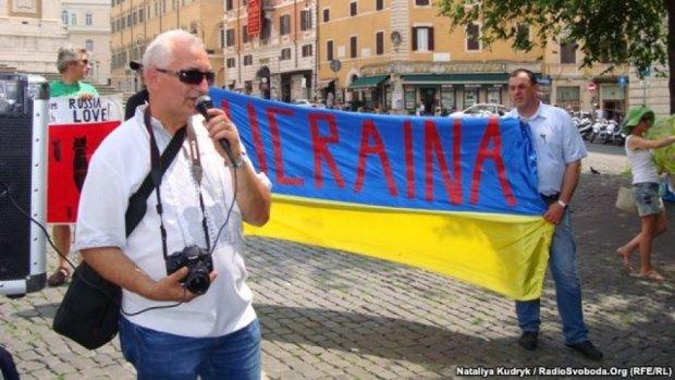 Українці Італії протестують проти зустрічі Путіна і Папи