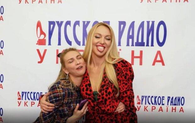 Оля Полякова і Лера Товстолес / скріншот з відео