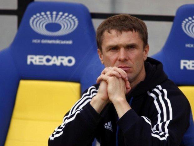 Тренер Ребров хоче працювати в Англії