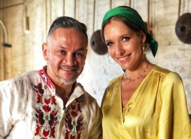 Эктор Хименес-Браво и Катя Осадчая / фото: Світське життя