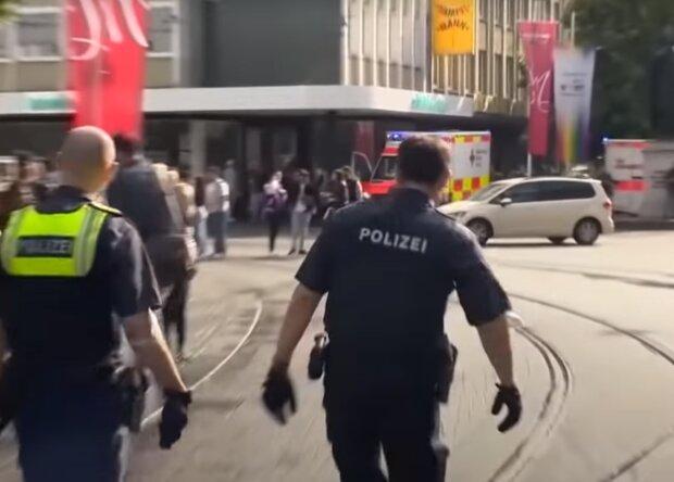 Нападение в Варцбурге, Скрин, видео YouTube
