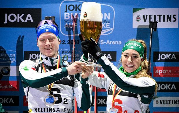 Італійські біатлоністи виграли знамениту Різдвяну гонку