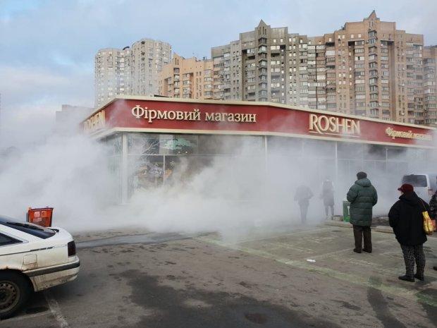 пожежа в магазині Roshen